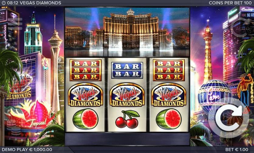 Vegas Diamonds Slot Mobil