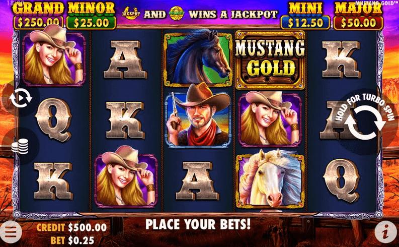 Mustang Gold Slot Mobil