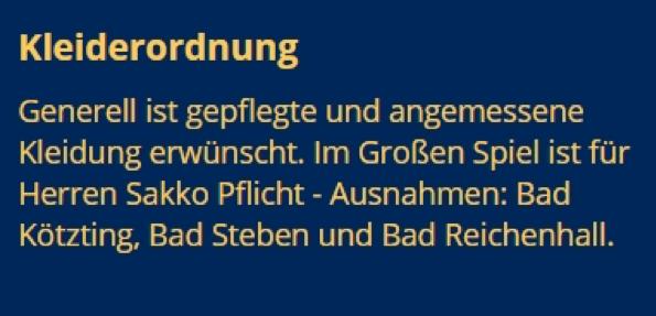 Spielbank Bayern