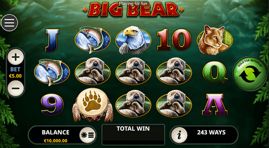 Big Bear Slot mobil