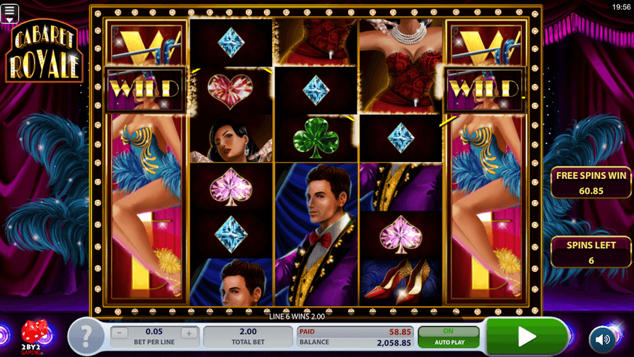 Cabaret Royal Slot Mobil