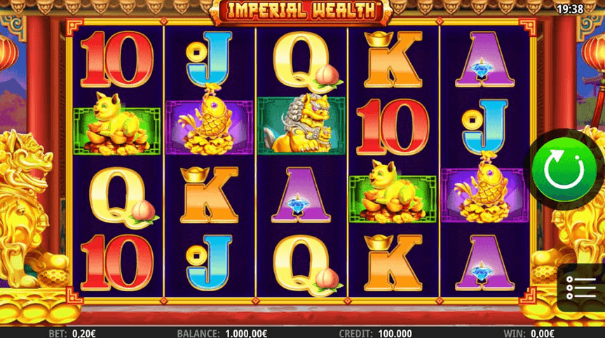 Imperial Wealth slot mobil