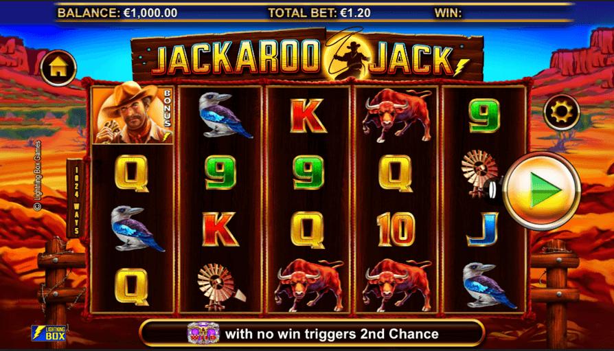 Jackaroo Jack Slot Mobil