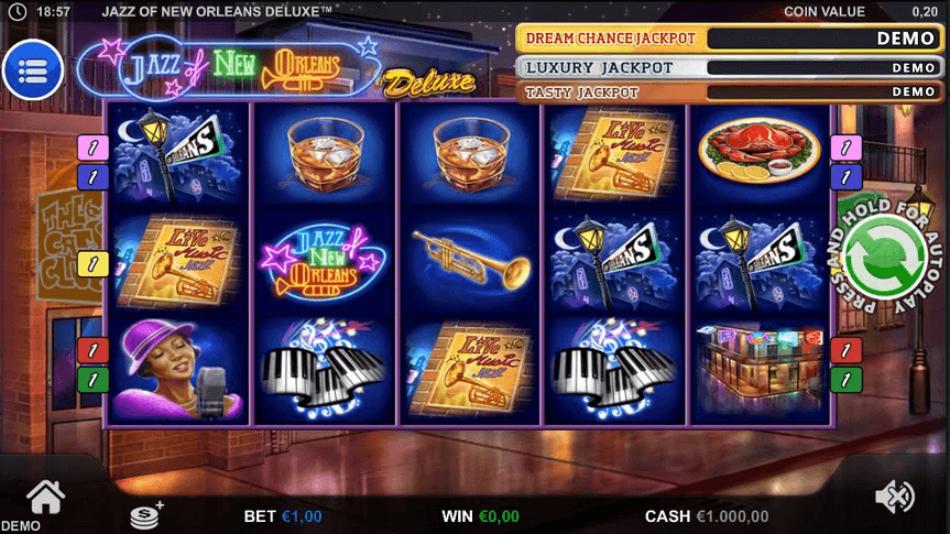 Jazz of New Orleans Slot Mobil