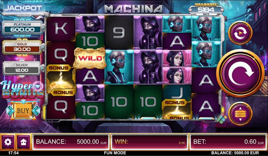 Machina Mega ways slot Mobil