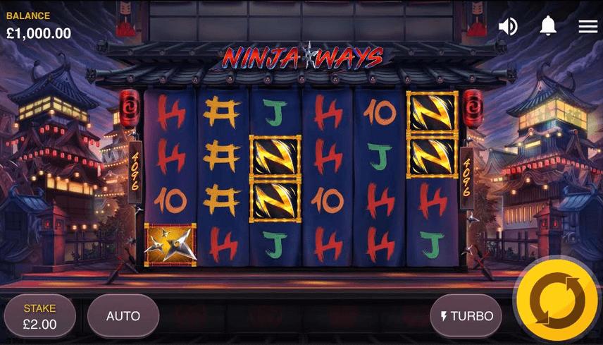 Ninja Ways Slot Mobil