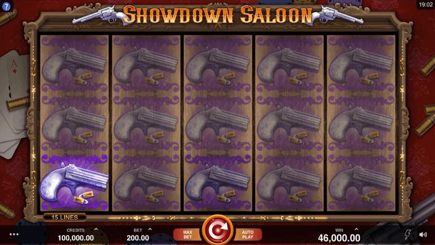Showdown Saloon Slot mobil