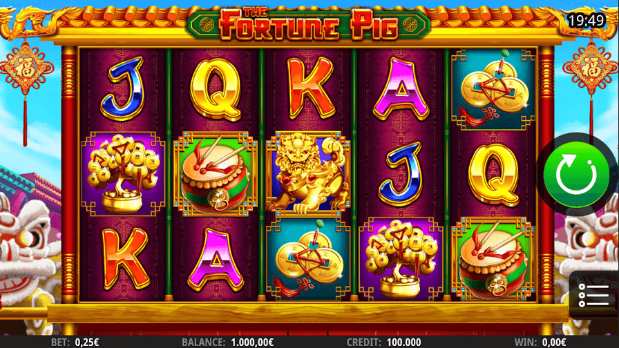 The Fortune Pig Slot Mobil