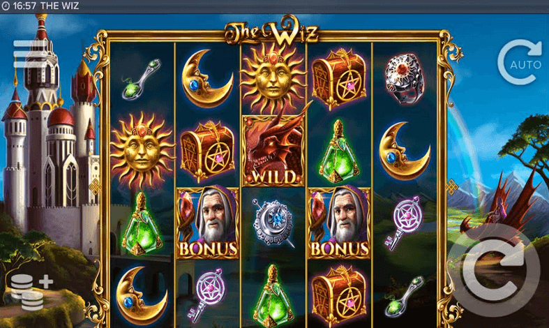 The Wiz Slot mobil