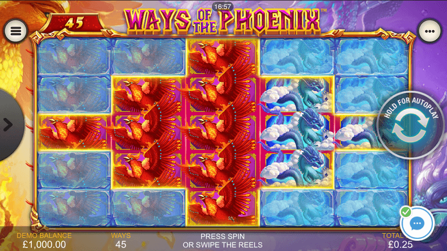 Ways of the Phoenix Slot Mobil