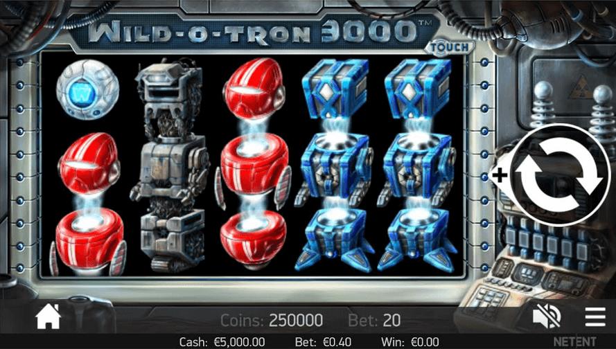 Wild O Tron 3000 Slot Mobil