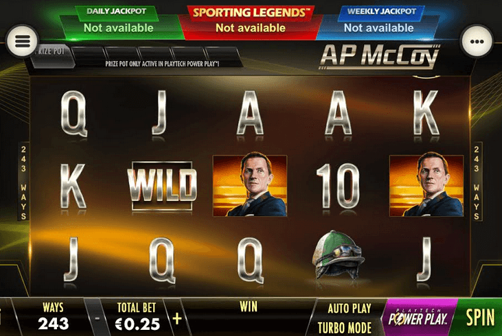 AP McCoy: Sporting Legends Slot Mobil