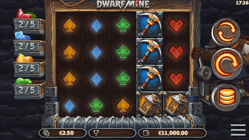 Dwarf Mine Slot Mobil