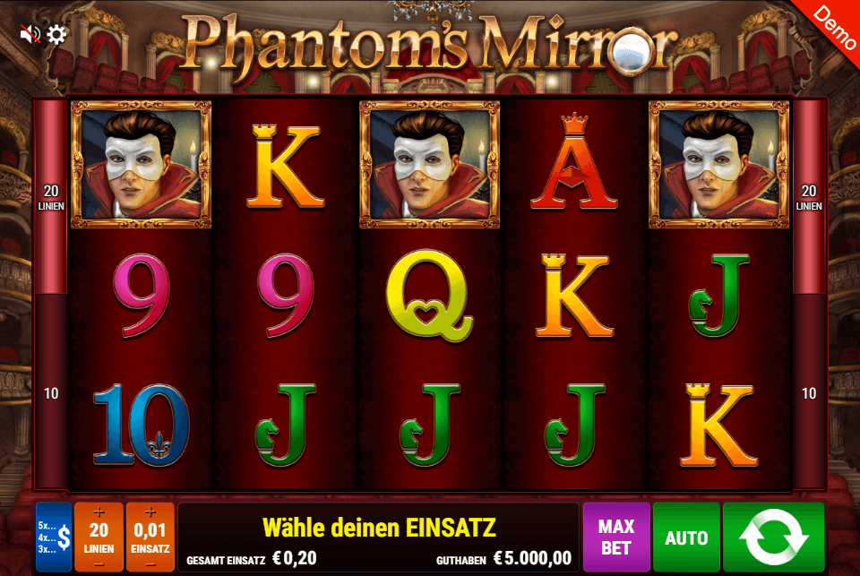 Gamomat Phantom's Mirror Slot