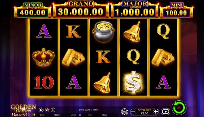 Golden Dollars Golden Cash Slot
