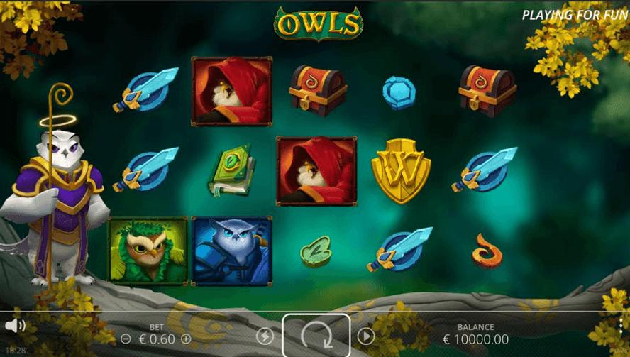 Owls Slot Mobil