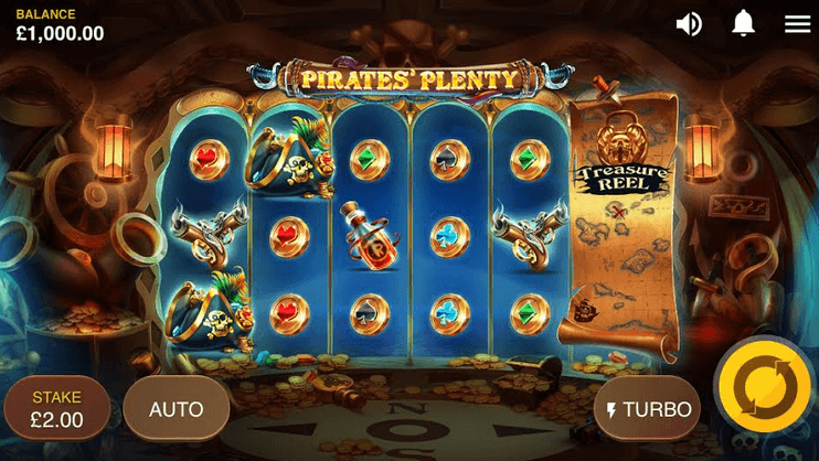 Pirates' Plenty Slot mobil
