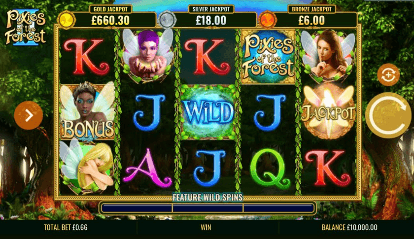 Pixies of the Forest II Slot Mobil