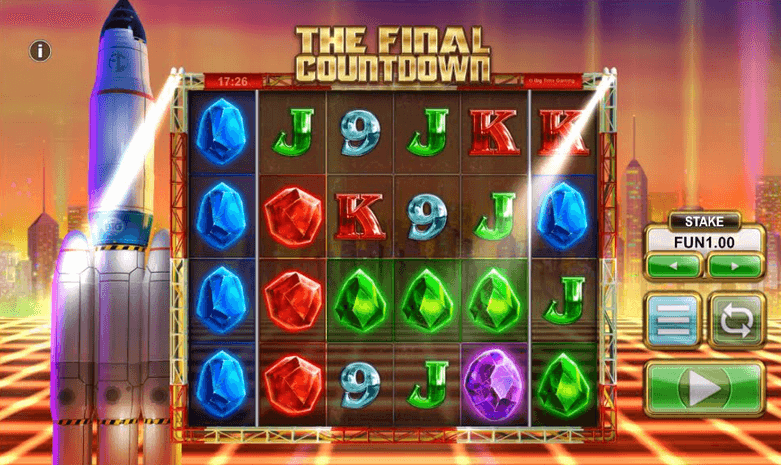 The Final Countdown Slot Mobil