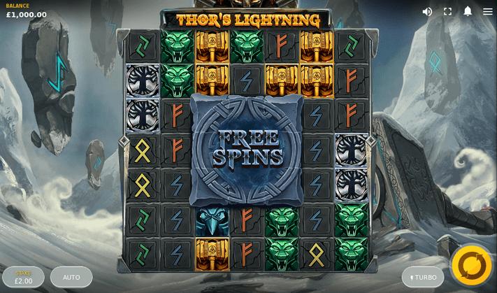 Thor's Lightning Slot Mobil
