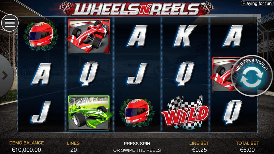Wheels N' Reels Slot Mobil