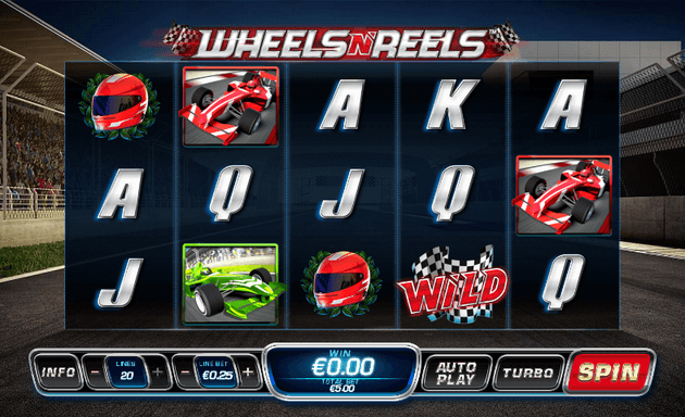Wheels N' Reels Slot