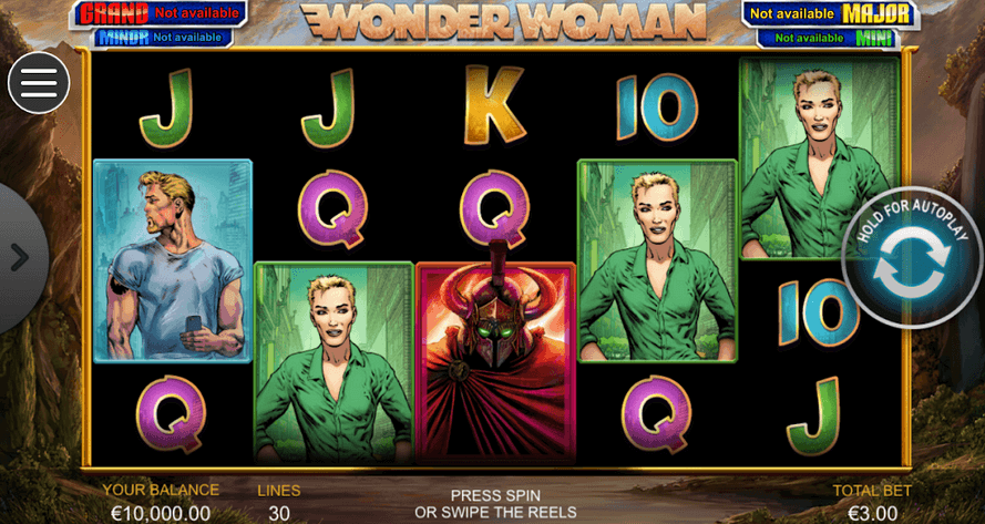 Wonder Woman Slot Mobil
