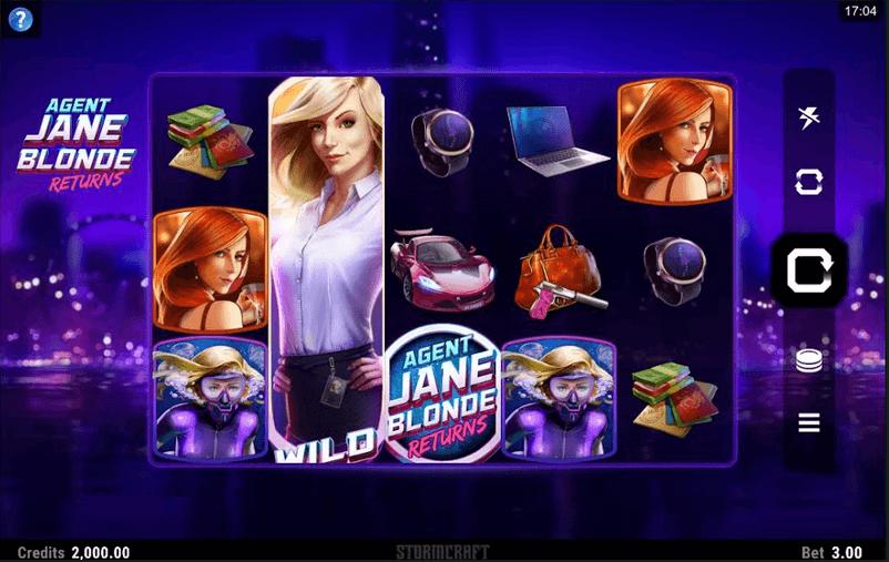 Agent Jane Blond Returns Slot Mobil