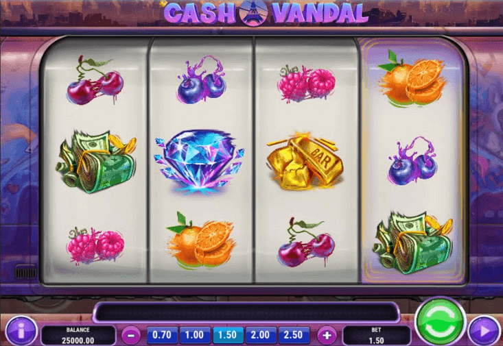 Cash Vandal Slot Mobil