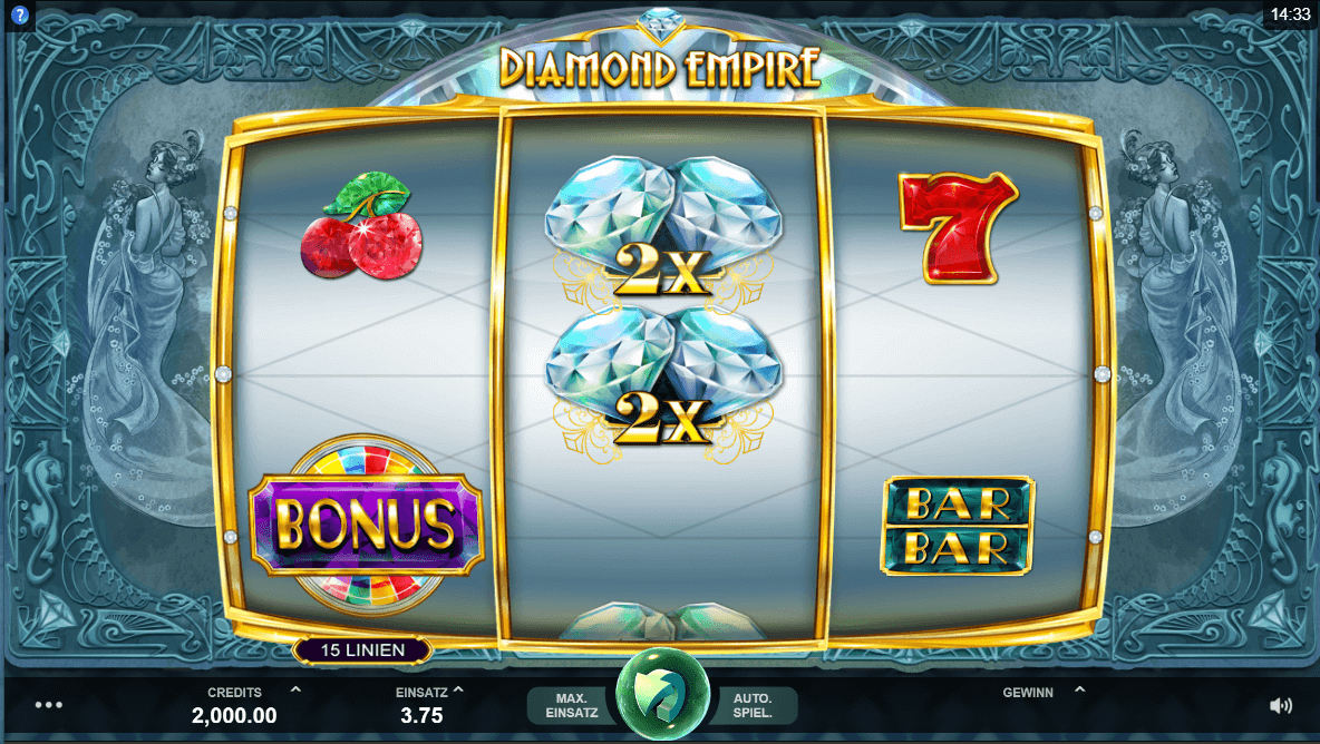 Diamond Empire Slot mobil
