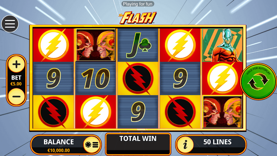 The Flash Slot mobil