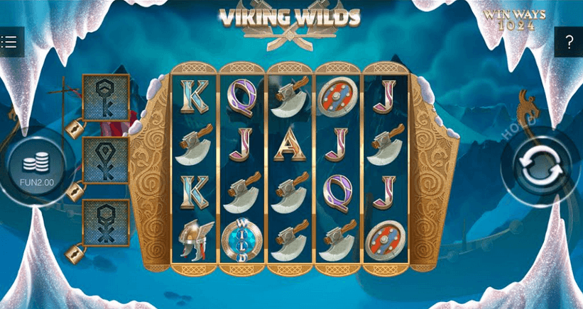Viking Wilds Slot Mobil
