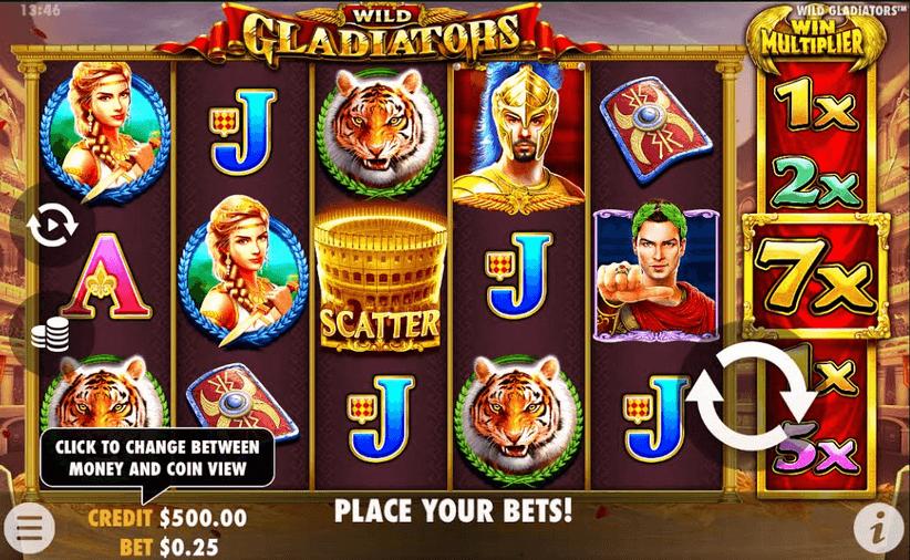 Wild Gladiators Slot Mobil