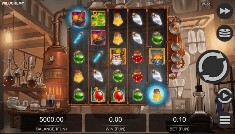 Wildchemy Slot Mobil