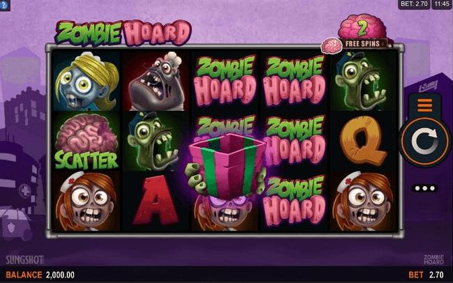 Zombie Hoard Slot Mobil
