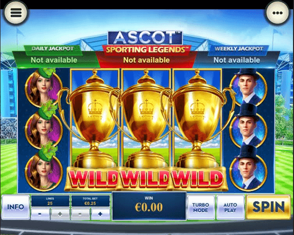 Ascot: Sporting Legends Slot Mobil