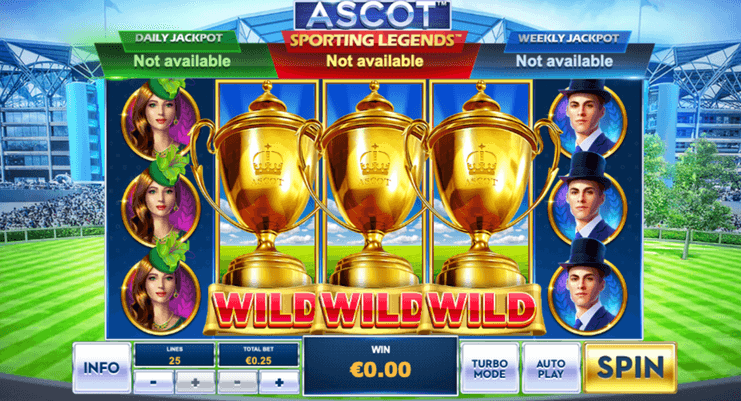 Ascot: Sporting Legends Slot