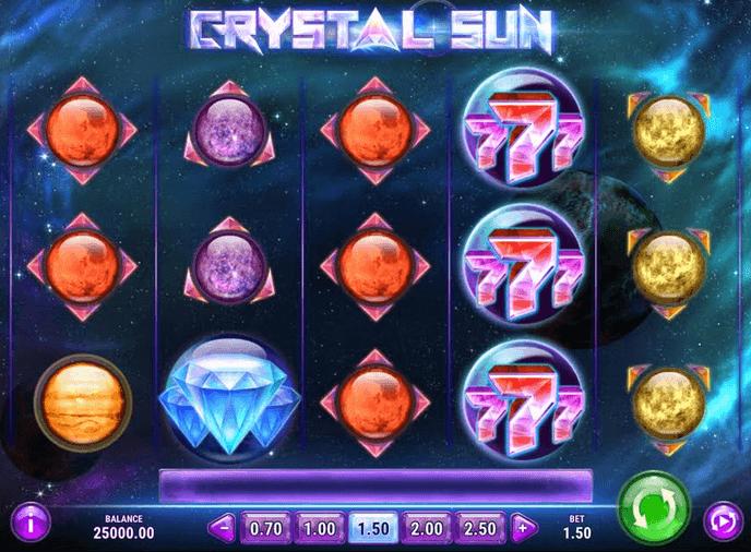 Crystal Sun Slot Mobil