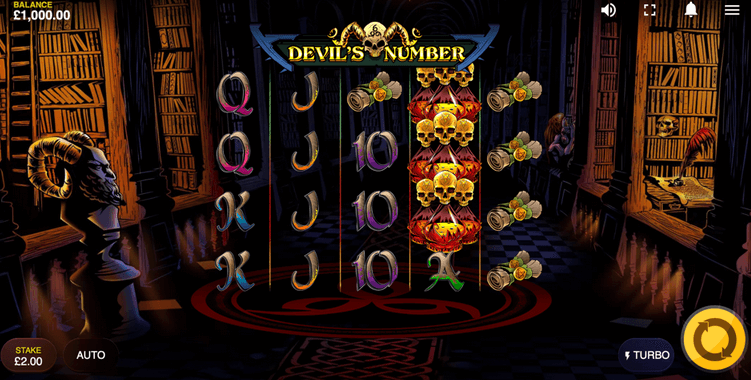 Devil's Number Slot