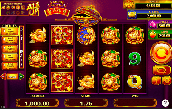 Jin Ji Bao Xi: Endless Treasure Slot