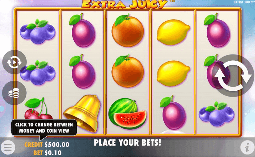 Extra Juicy Slot Mobil