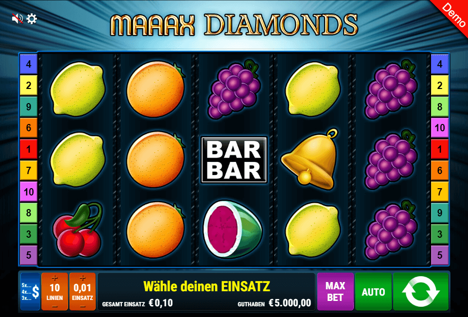 Maaax Diamonds Slot mobile