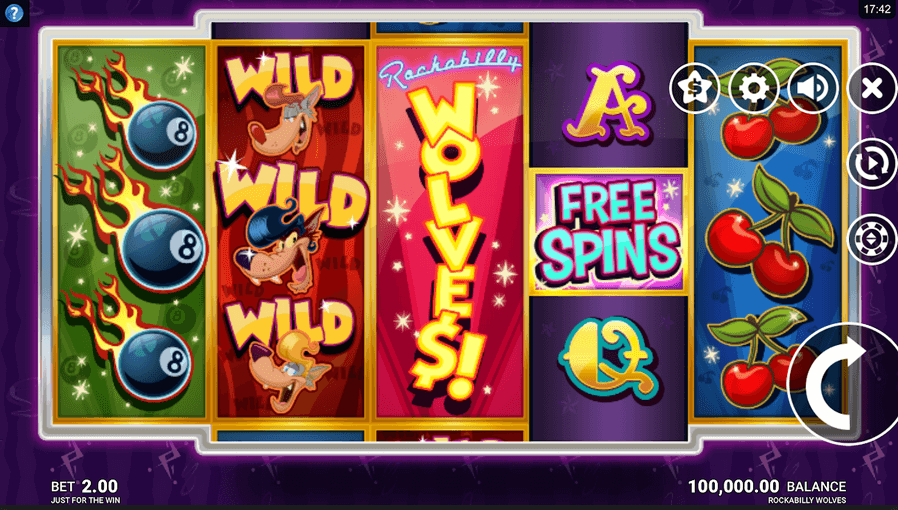 Rockabilly Wolves Slot Mobil