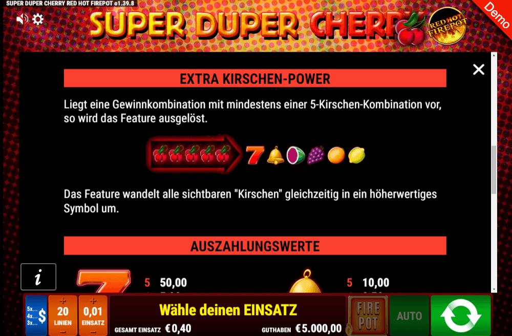 Super Duper Cherry Extra