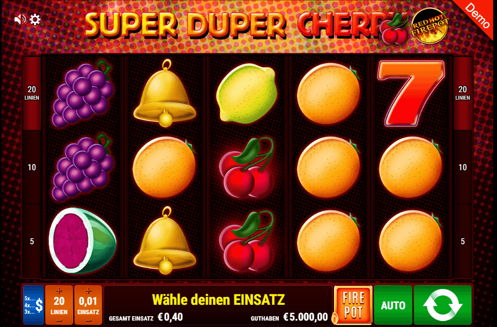 Gamomat Super Duper Cherry Slot