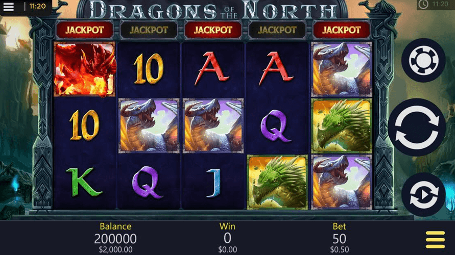 Dragons of the North Slot Mobil