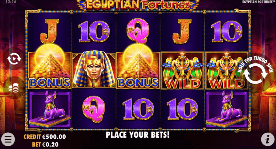 Egyptian Fortunes Slot Mobil