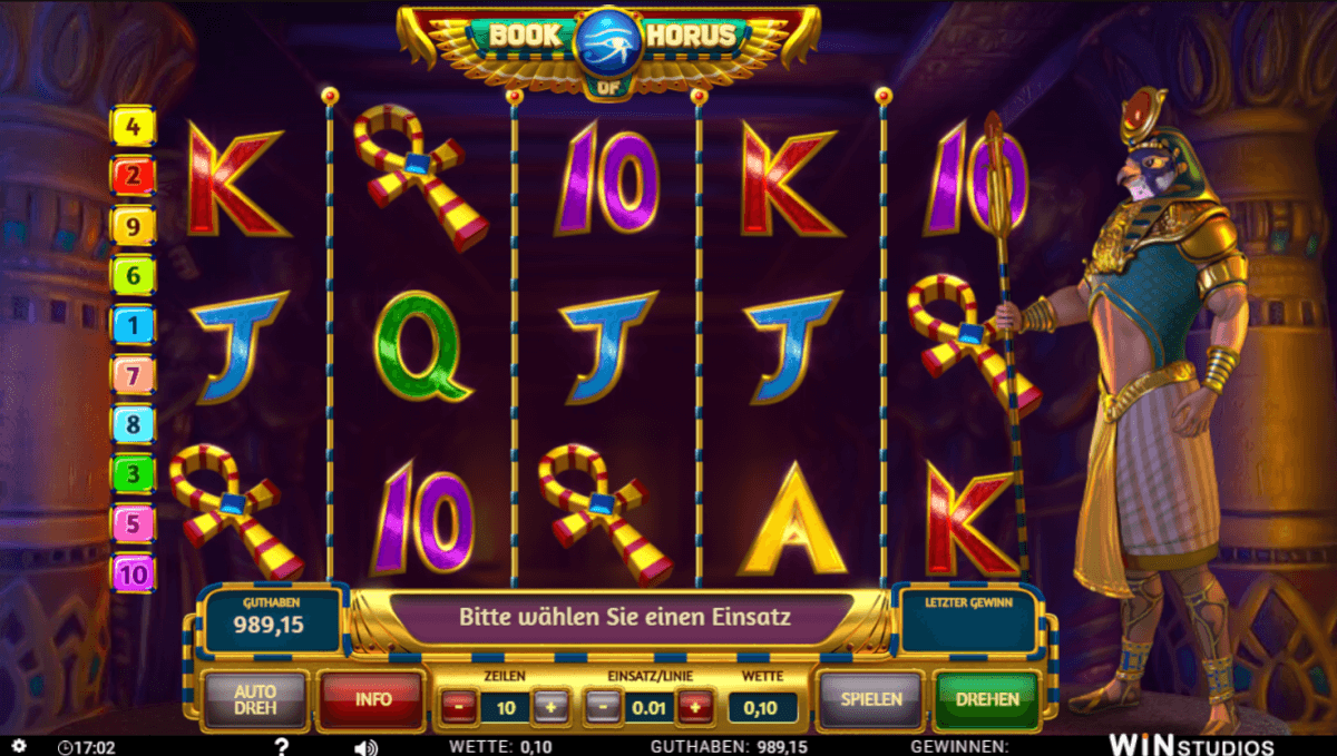 Winstudios Book of Horus Slot