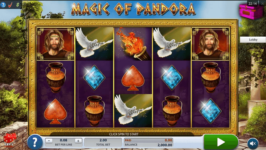 Magic of Pandora Slot mobil