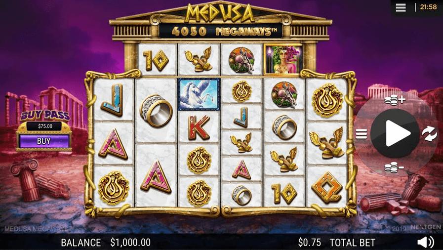Medusa Megaways Slot Mobil
